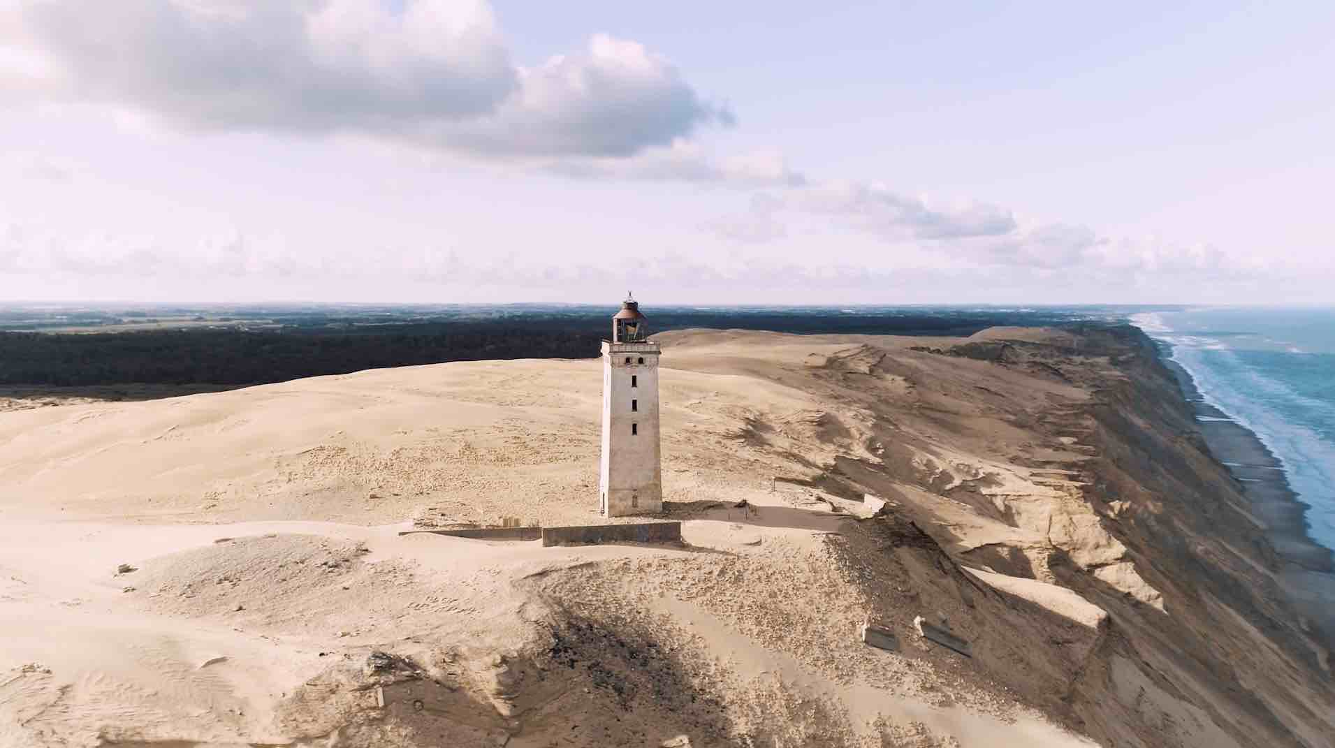Rubjerg Knude Fyr - Ein Leuchtturm zieht um