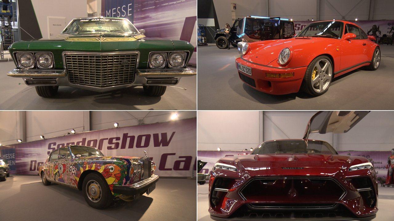 PS-Festival: Das sind die Crazy Cars & Design Cars der Essen Motor Show 2019