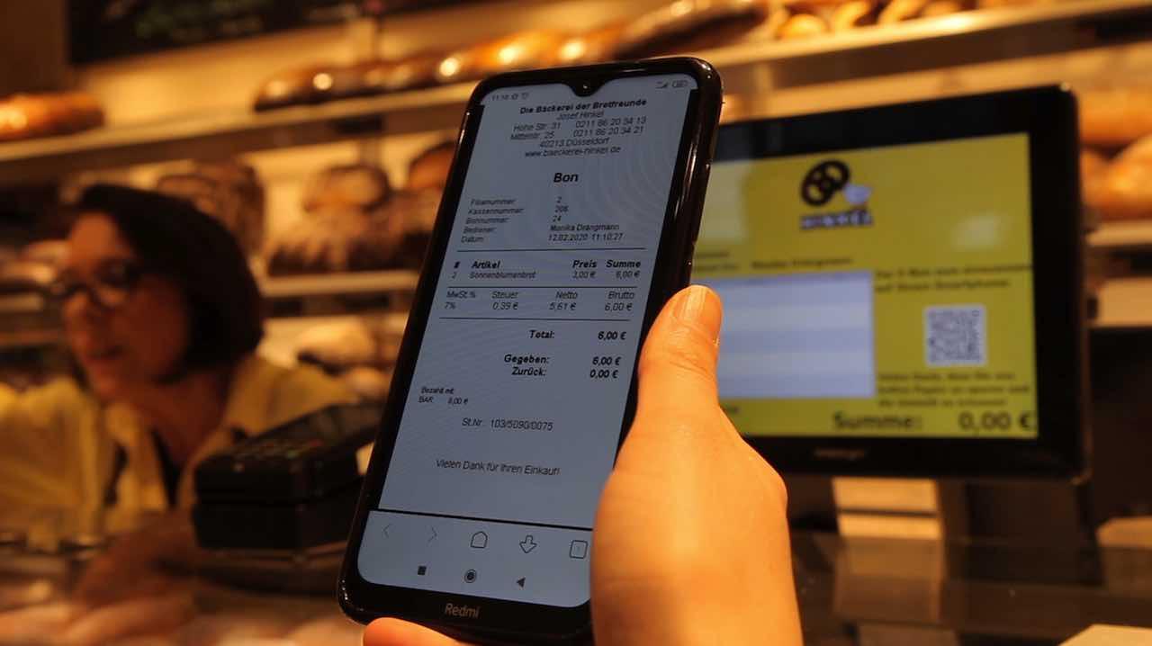 Kassenbonpflicht: Digitale Lösungen gegen den Papiermüll